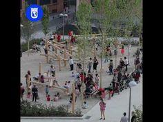 Inaugurados los jardines del Arquitecto Ribera en la calle Barceló | es por madrid