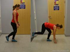 bowlaren - övningar för löparknä