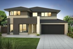 Clarendon Home Designs: Sherwood 42 S - Facade Option 2. Visit www.localbuilders.com.au/builders_nsw.htm to find your ideal home design in New South Wales