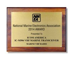 Icom's IC-M506 Fixed Mount VHF Wins Best Marine Radio at 2014 NMEA Show: http://www.icomuk.co.uk/News_Article/3508/18316/ #icom #marine