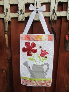 Welcome Home Springtime Decor Appliqued Fresh And Modern Gardening Decoration For The Home Or Garden