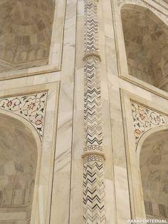 Decoraciones del Taj Mahal