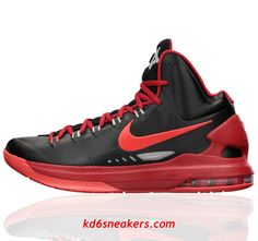 Nike KD5 Black Red limited Kevin Durant Basketball shoes #KD #5