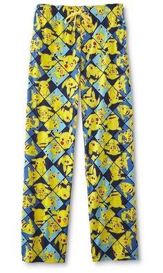43f350e48444 Pokemon Lounge Pants Sleep Pjs NeW Pikachu Pajamas Men s Large L 36