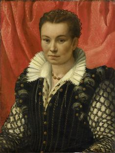 Portret van een vrouw, anoniem, 1525 - 1549.  Housed in the Rijksmuseum Amsterdam.  Accession #SK-A-3411.