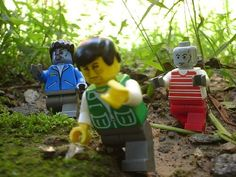 Move those little lego legs! #Lego #Zombie