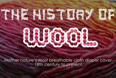 The History of Wool- Mother Nature's Diaper Cover | Dirty Diaper Laundry