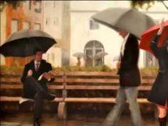 おはようございます。 今日の東京は一日中雨のようですね。 赤い傘がアクセントになったちょっとお洒落な雨の日の映像を見つけました(これは誰の絵だったかなぁ)。この映像とともに、今朝の一曲はキース・ジャレット&チャーリー・ヘイデンで「Where Can I Go Without You」