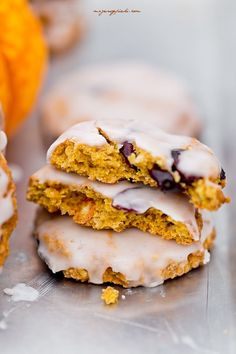 Pumpkin Oatmeal Cookies, Pumpkin Spice Latte, Good Food, Yummy Food, Coconut Cookies, Cake Cookies, Food Inspiration, Vegetarian Recipes, Food And Drink