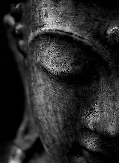 Framed #print - stone buddha face #black & #white (picture poster buddhist art),  View more on the LINK: 	http://www.zeppy.io/product/gb/2/321928092555/