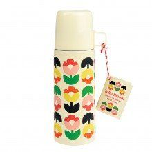 Tulip Bloom Vacuum Flask And Cup