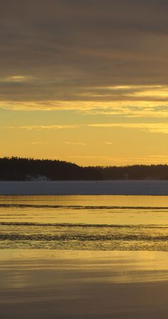 Golden Hour on the Ferry Between Parainen and Nauvo