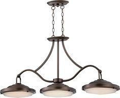 Rustic Bronze - Brass & Glass Island LED Pendant Light 40... https://www.amazon.com/dp/B01AX8JYU0/ref=cm_sw_r_pi_dp_x_oqP4yb5ETKZ5Z