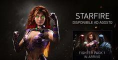 Injustice 2 dà il benvenuto a Starfire, la Teen Titan