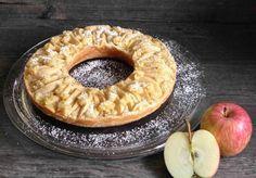 Apfelkuchen aus dem Omnia-Backofen