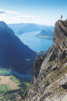 "visualechoess: "" Romsdalseggen - by: Johan Kistrand """
