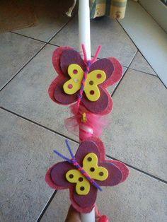 λαμπαδα Easter Crafts, Birthday Candles, Kids Rugs, Blog, Decor, Blue Prints, Manualidades, Decoration, Kid Friendly Rugs