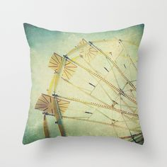 Ferris+Wheel+Throw+Pillow+by+Honey+Malek+-+$20.00