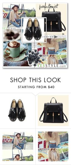 """Yesstyle Back to school"" by edy321 ❤ liked on Polyvore featuring BBORAM, BeiBaoBao and yesstyle"