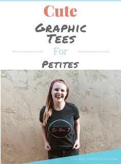 Adding some graphic tees to your closet is always a great idea. Check out my shop page for these adorable petite themed graphic tee shirts that are a must have. #graphictee #graphictshirts #petitestyle #petitefashion