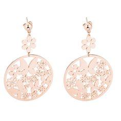 S Agapò Flower Orecchini pendenti rosa con farfalle SFL23