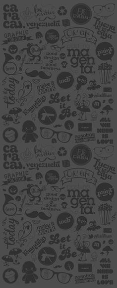 Plastilina Magenta :::: Pattern and Poster