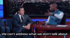 """Watch DeRay Mckesson help Stephen Colbert understand white privilege. 