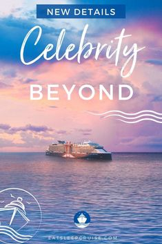 All the Details from Celebrity Cruises' Celebrity Beyond Reveal - Celebrity Cruises announced details of its newest Edge Class cruise ship during a live Celebrity Beyond Reveal. Get all the info here. Enhancements include new bars, new restaurants, updates to cruise cabins, and reimagined spaces. Cruise Checklist, Packing List For Cruise, Cruise Tips, Cruise Travel, Cruise Vacation, Celebrity Cruise Ships, Celebrity Cruises, Cruise Excursions, Cruise Destinations