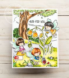 Pretty Cards, Cute Cards, Stamp Making, Card Making, Lawn Fawn Blog, Funny Character, My Stamp, Paper Cards, Kids Cards