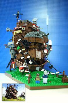 Lego Ghibli