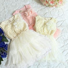 2014 HOT! new summer Toddler Kids Baby child's dress Princess Girls Lace Floral Ruffled tutu Dress-in Dresses from Apparel & Accessories on ...