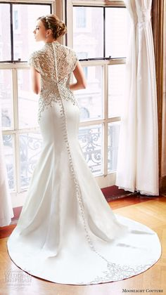 Moonlight Couture Spring 2016 Wedding Dresses | Wedding Inspirasi