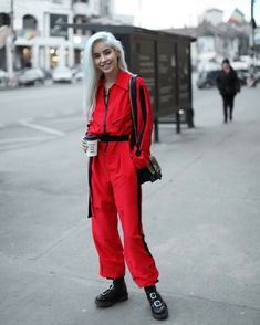 Burns, Combat Boots, Jumpsuit, How To Wear, Instagram, Outfits, Style, Fashion, Overalls