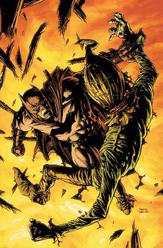 Batman .vs. Scarecrow!