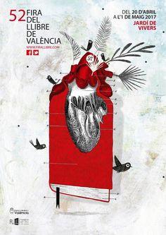 52 Fira del #llibre de València del 20 d'abril a l'1 de maig de 2017 al Jardí de Vivers