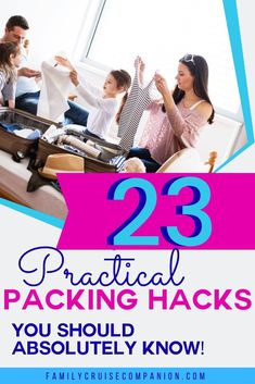A few choice packing hacks will save time, space and money. Reduce stress and improve the quality of your next family trip with these travel packing tips. Cruise Packing Tips, Packing Hacks, Packing Tips For Travel, Travel Hacks, Best Family Vacations, Family Cruise, Cruise Vacation, Family Travel, Cruise Outfits