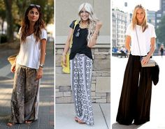 how to wear the casual wide-leg pant trend // coco+kelley