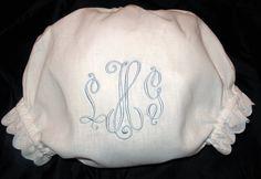 Monogram Panties