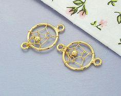 2 von 925 Sterling Silber 24 k Gold Vermeil Stil-Dream von bymitena