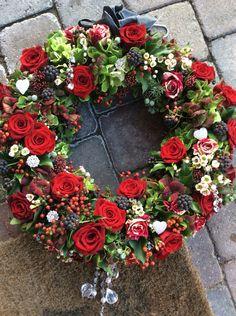 My wreath! ❤️
