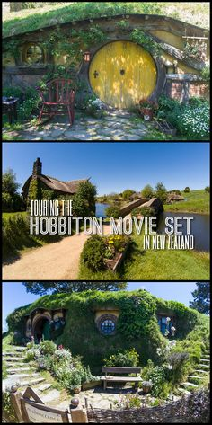 Touring the Hobbiton Movie Set in Matamata, near Auckland, New Zealand. Find out how to get there and what you can see!