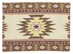 Dining Table Placemats, Southwest Home Decor, Placemat Design, Native American Fashion, Place Mats, Home Reno, Earth Tones, Throw Rugs