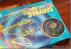 Connecta Straws for Fine Motor and Visual Perception Pinned by @PediaStaff – Please Visit http://ht.ly/63sNt for all our pediatric therapy pins