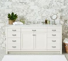 Bath Furniture And Mirrors | Pottery Barn
