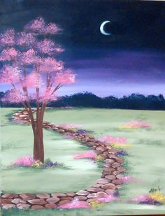 Moonlit Path