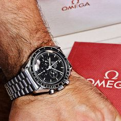 Omega Speedmaster Professional Watch 345.0808 Moonwatch w/ Omega Box