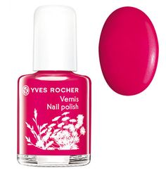 Yves Rocher Nail Polish - Red Berry - http://47beauty.com/nails/index.php/2016/10/12/yves-rocher-nail-polish-red-berry/ Yves Rocher Nail Polish – Red Berry  Mini nail polish � Maxi colour! Trendy nail polishes in small sizes to collect and to match any outfit or mood: – Nudes*: Snow White, Pastel Pink: subtle, shimmering shades with light coverage for a manicured look. – Frosted: Fuchsia, Red Berry, Pink Sorbet: bright shades with adaptable coverage for