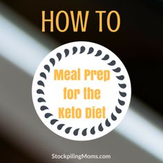 Keto Dieting is all the rage these days! For good reason! Learning How to Start the Keto Diet is easier than ever. It is a great way to jump start your body into losing that Keto Meal Plan, Diet Meal Plans, Meal Prep, Food Prep, Paleo For Beginners, Beginner Paleo, Keto Shopping List, Sugar Detox, Atkins Diet