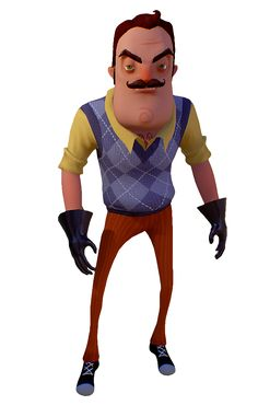 c Vixkx Hello Neighbor Game, The Neighbor, Spooky Games, Number Of The Beast, Cute Animal Memes, Minor Character, Letting Go Of Him, Bendy And The Ink Machine, Indie Games