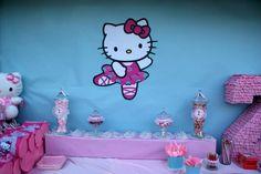 Hello Kitty Ballerina  | CatchMyParty.com